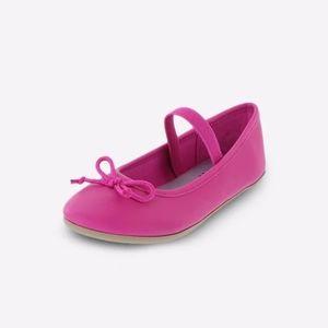 Zoe & Zac Pink Bow Ballerina Flats 7